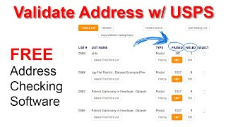 How to Validate an Address with USPS in 1 easy step.
