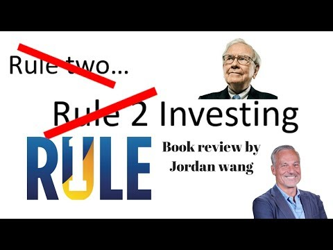 """Wang Review: """"Rule one investing"""" by Phil Town"""