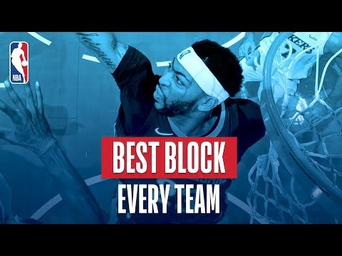 Best Block From Every Team: 2018 NBA Season
