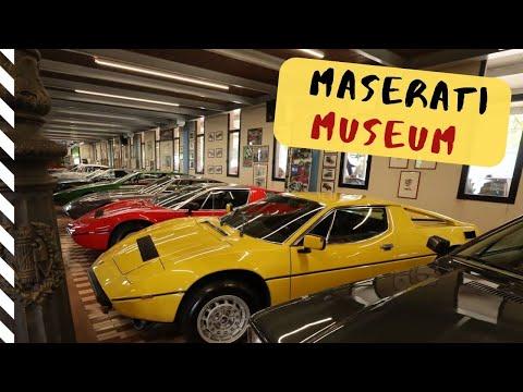 Umberto Panini Maserati Museum in Modena, Italy