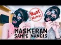 MASKER ARANG & Whisper Challenge with Anastasya Andika | Clarin Hayes