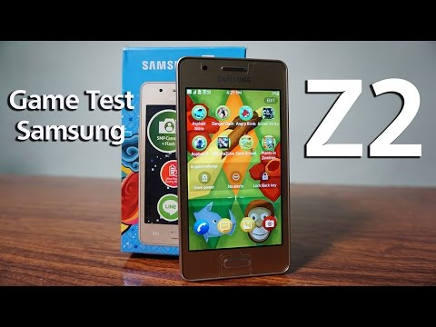 Samsung Z2 Gaming Test Indonesia - (Tizen OS)