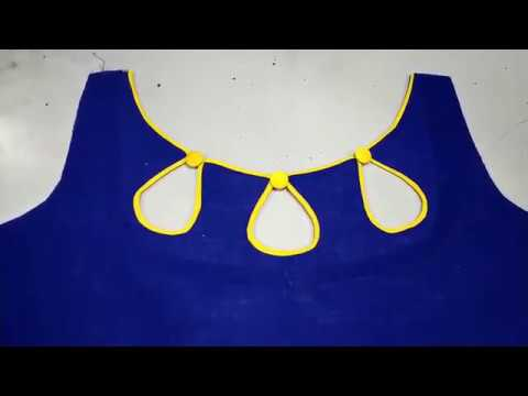 Popular Front Boat Neck Designs Cutting And Stitching Youtube
