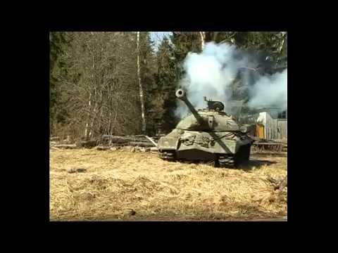 Тяжелый советский ТАНК ИС 3 Щучий нос
