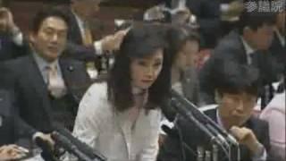 三原じゅん子 拉致問題の質疑 たびだび中断含み 2/7参議院予算委員会 三...