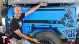 Off-Road Trailers, Broken Jeeps, SEMA and More – TrailRecon Update
