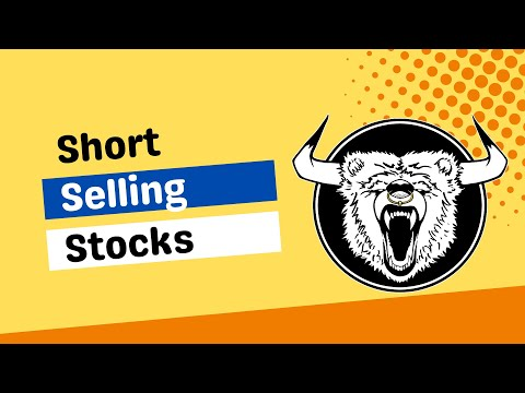 Shorting a Stock Example - How to Short Sell Stocks