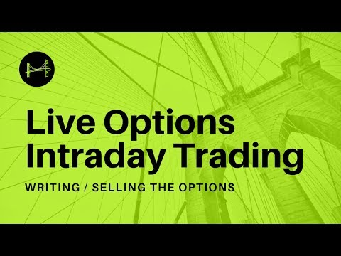 Live Options Trading (Options Hedging Strategy) – In English