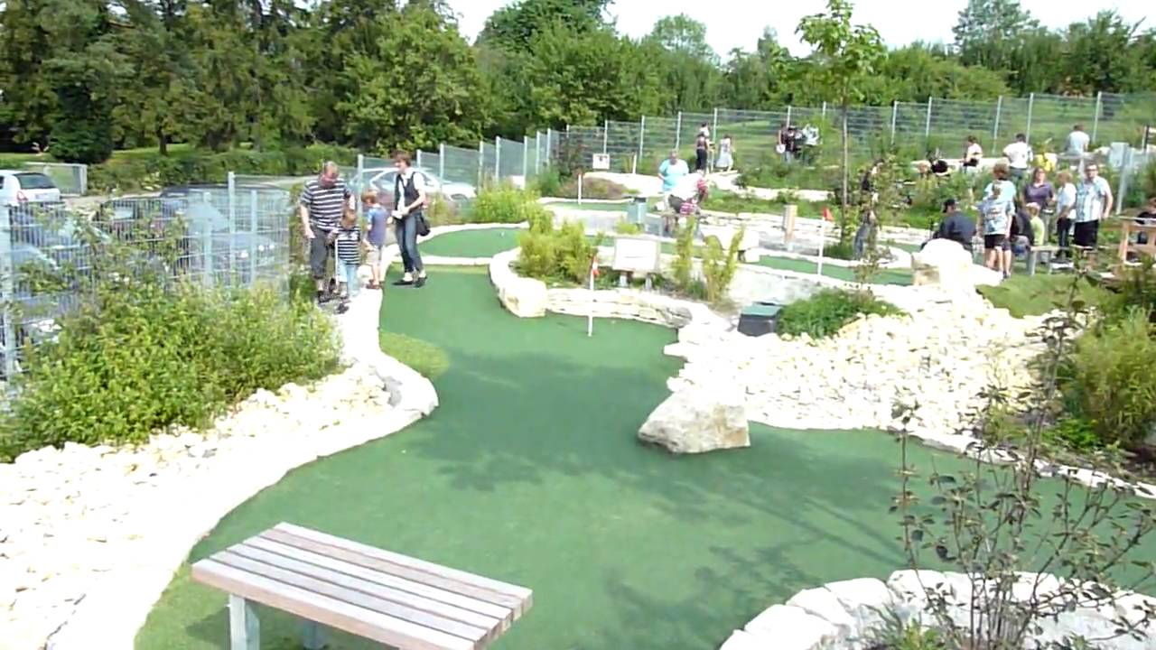 Adventure Golf Winnenden Minigolf Youtube