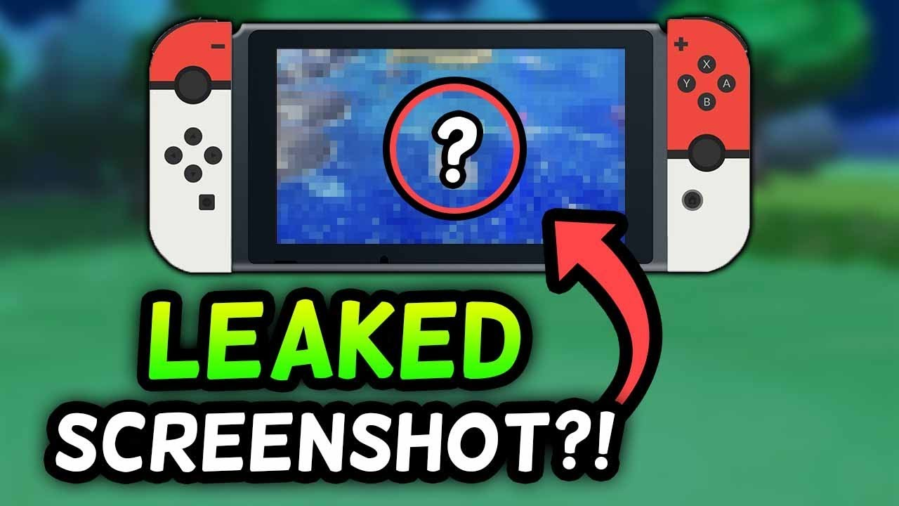 Is this a REAL GAMEPLAY LEAK FOR POKÉMON SWITCH?! [Rumor]