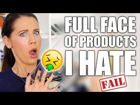 FULL FACE WITH HATE PRODUCTS ... FAIL