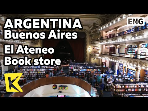 【K】Argentina Travel-Buenos Aires[아르헨티나 여행-부에노스아이레스]엘 아테네오/El Ateneo/Book store/Grand Splendid