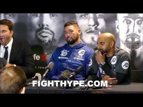 DAVID  HAYE VS. TONY BELLEW FULL OFFICIAL POST-FIGHT PRESS CONFERENCE
