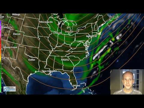 Tuesday WX VLOG: Wedged today but watching weekend storm threat.