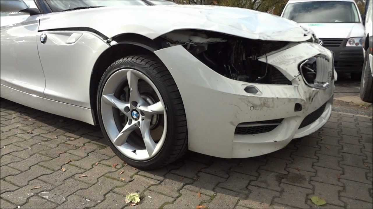 Bmw Z4 E89 Bad Crash Unfall Schaden Accident Crashed