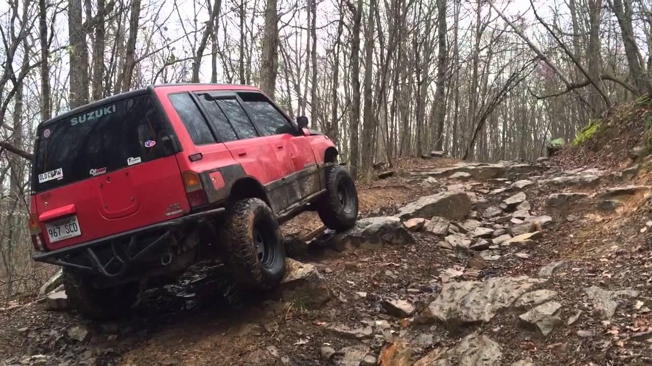 2016 Suzuki Sidekick 4x4 Off Road Weekend Youtube