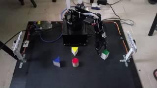 Ứng dụng xử lý ảnh vào điều khiển cánh tay máy Robot 4 bậc tự do