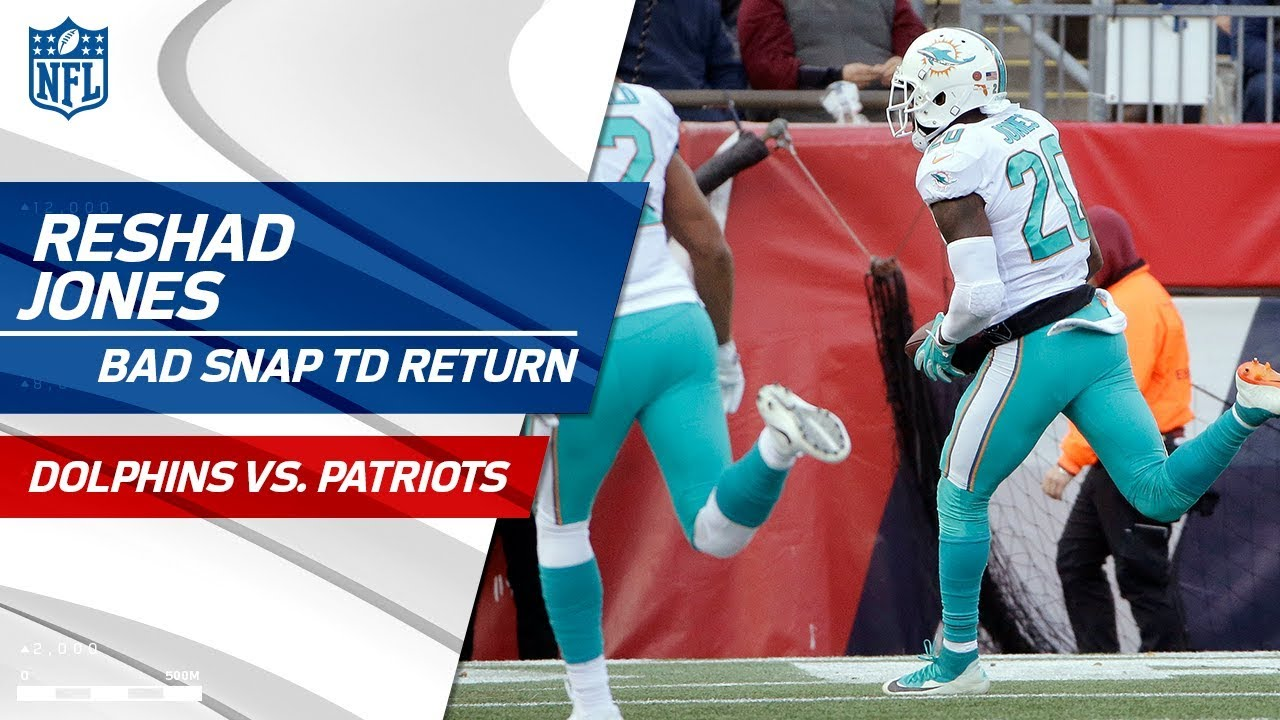 Reshad Jones Returns New England s Bad Snap for Clutch TD