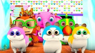 Count Numbers & Animals | Top Counting Kid Songs | Nursery Rhymes Learning Collection | Baby Songs