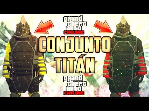 TRUCAZO!!! - COMO CONSEGUIR TRAJE DE TITAN - GTA V ONLINE
