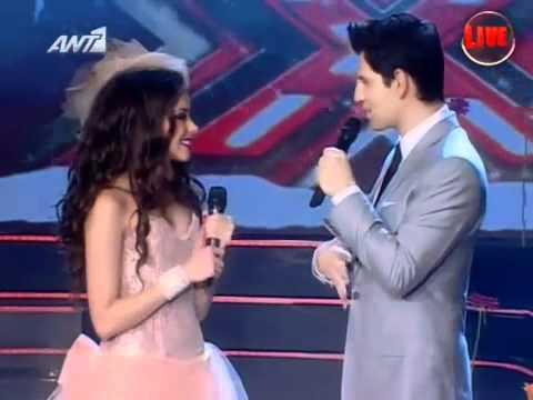 Nikki Ponte - X Factor 3 Greece - Live Show 8