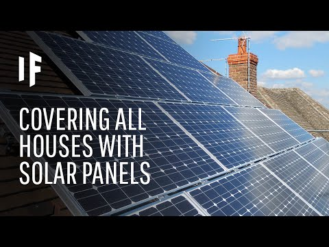 What If All Houses Were Covered With Solar Panels?