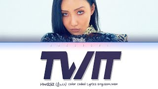 "Download lagu HWASA (화사) (마마무) ""TWIT(멍청이)"" (Lyrics Eng/Rom/Han/가사) MP3"