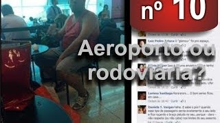 Hudson Miranda - Programa FaceFalante - 09 02 2014 - nº 10 - Tema: Aeroporto ou Rodoviária?