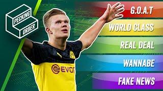 TIER LIST: Ranking UEFA Champions League wonderkids inc. Erling Haaland! ► Pecking Order