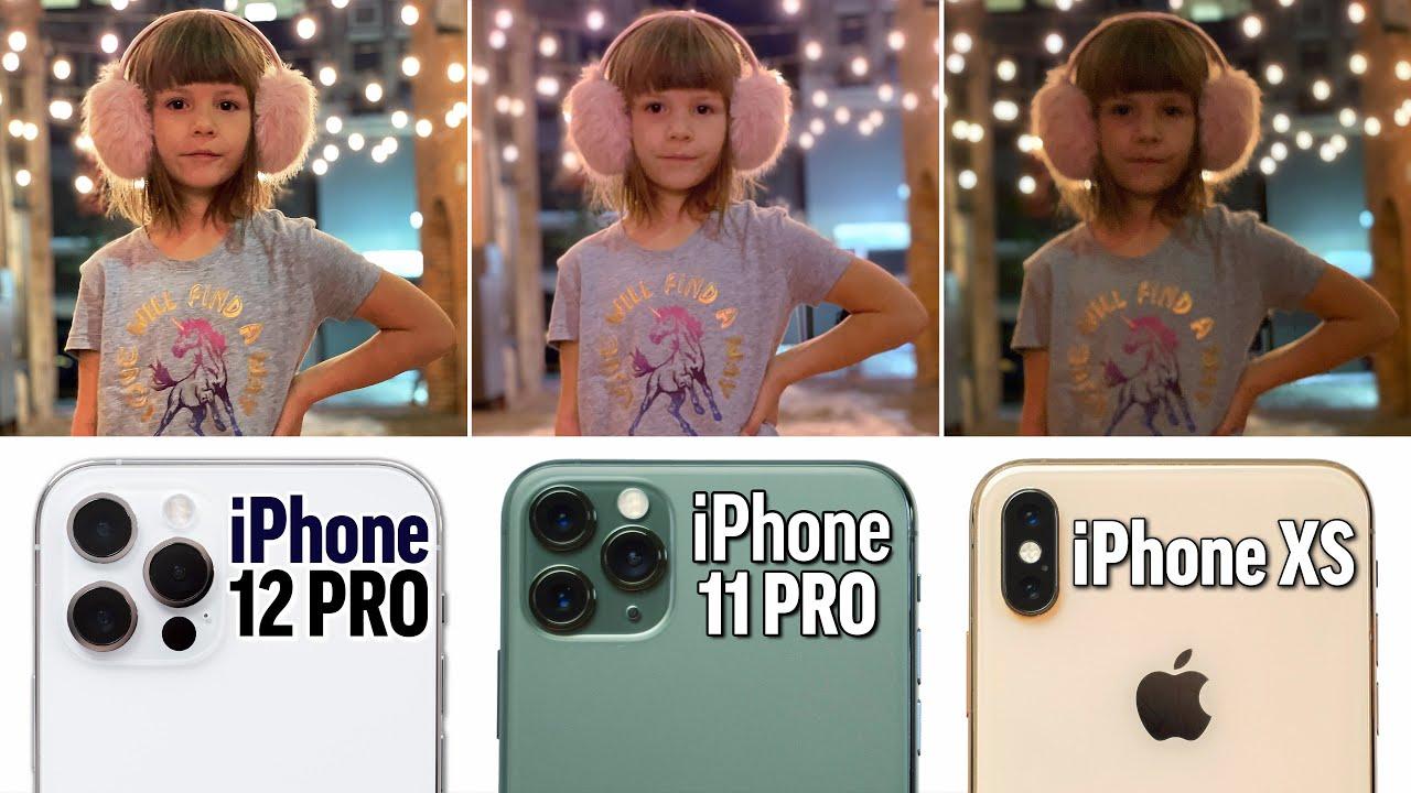 iPhone 12 Pro vs 11 Pro vs XS Ultimate Camera Comparison ...