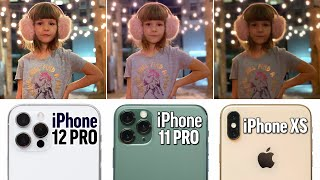 iPhone 12 Pro vs 11 Pro vs XS Ultimate Camera Comparison