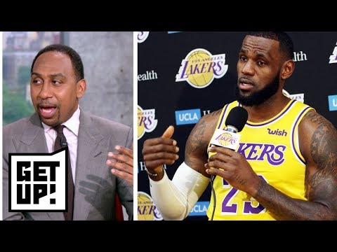 Stephen A. reacts to LeBron James saying Lakers won't catch Warriors | Get Up! | ESPN