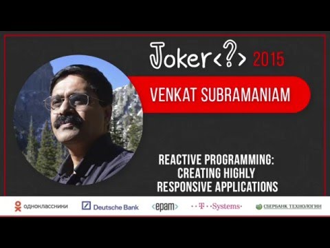 Venkat Subramaniam — Get Past the Syntax, the Real Scare