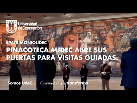 #PatrimonioUdeC: Pinacoteca #UdeC abre sus puertas para visitas guiadas