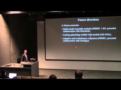 Marine conservation and fisheries management under climate change - Dr. William Cheung