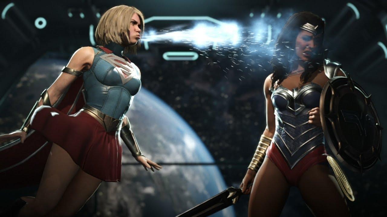 """Skirt"" Supergirl Vs ""Classic"" Wonder Woman Fights ..."