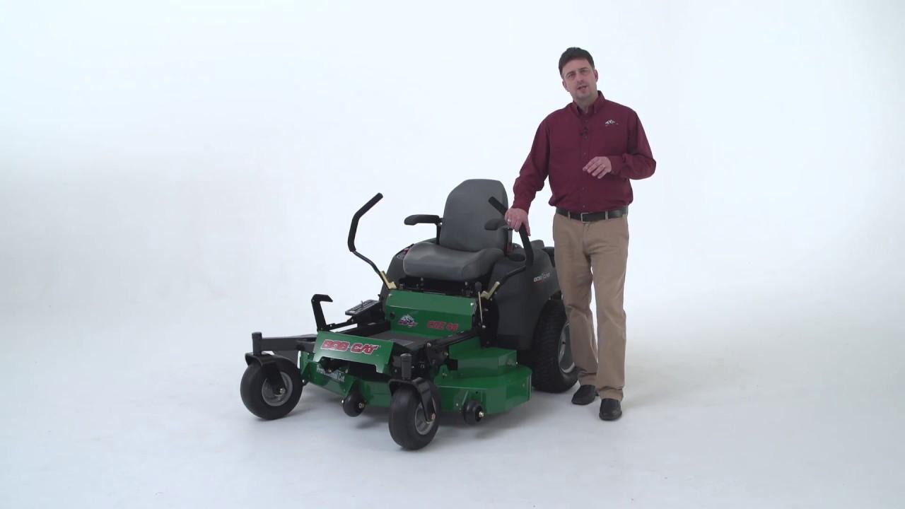 Bob-Cat Zero Turn CRZ 48 Mower
