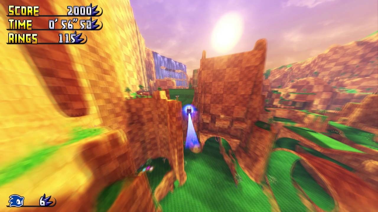 Sonic gdk green hill paradise download