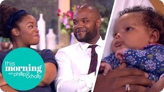 Holly Meets the 'First Dates' First Baby | This Morning