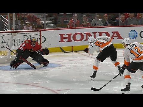 11/01/17 Condensed Game: Flyers @ Blackhawks