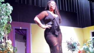 jamila jay plus size swimwear fashion show