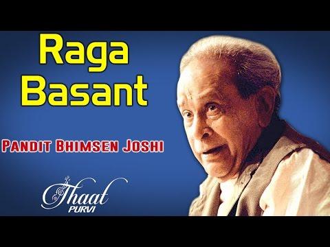 Raga Basant | Pandit Bhimsen Joshi (Album : Thaat Purvi)