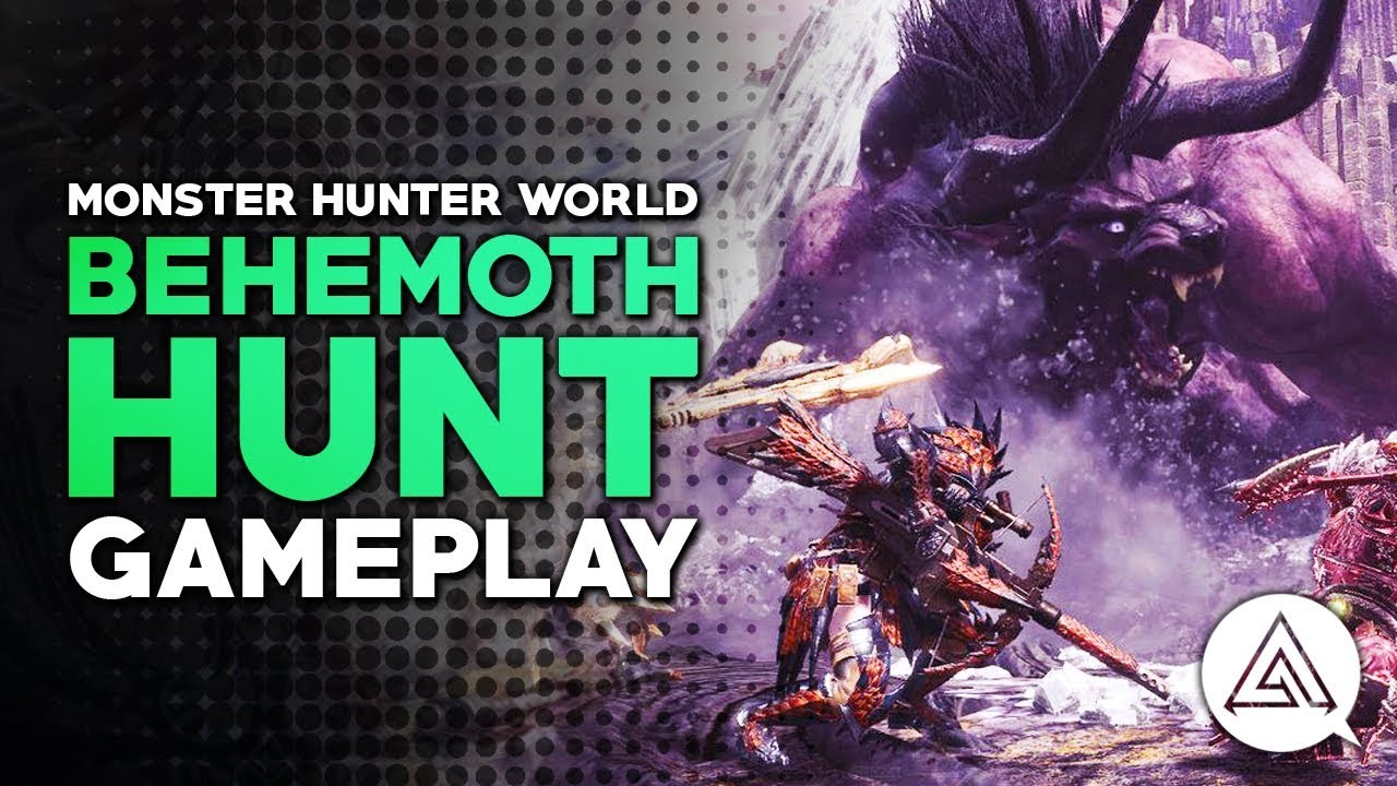 Monster Hunter World Behemoth strategy, Behemoth weakness explained