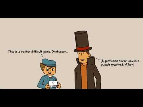 Step It Up, Luke (Professor Layton)