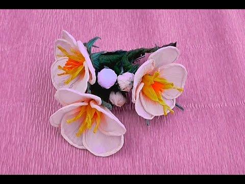Костюм цветок из гофрированной бумаги