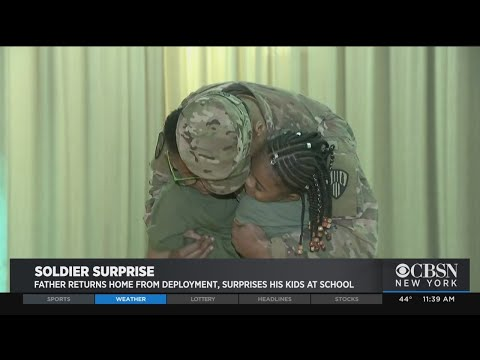 Soldier Returns, Surprises Kids At Bronx School – New York Alerts