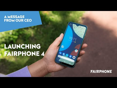 Launching Fairphone 4   A personal message from our CEO