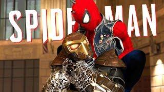 SHOCKER BOSS FIGHT!! | Spider-Man PS4 - Part 4