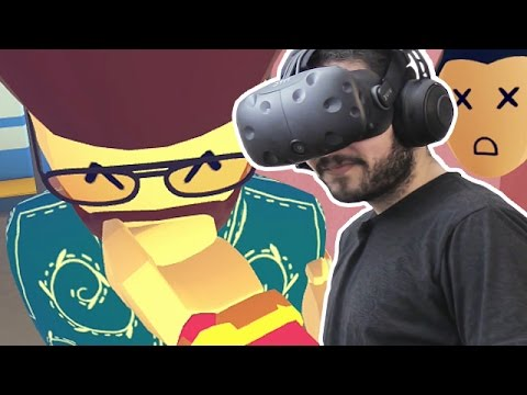 SOCIAL INTERACTION - REC ROOM HTC Vive Virtual Reality