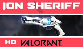Ion Sheriff VALORANT Sĸin | ALL KILL SOUNDS | Skins Collection Showcase
